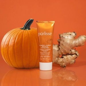 New Purlisse Pumpkin Ginger Charcoal Detox Mask
